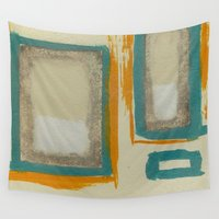 rothko Wall Tapestries featuring Soft And Bold Rothko Inspired by Corbin Henry