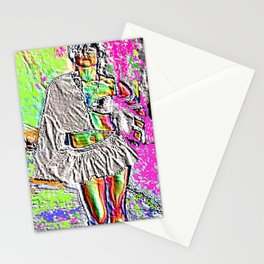 Raver Dust and Runway Lust Stationery Cards