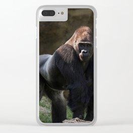 Gorilla Chief Clear iPhone Case