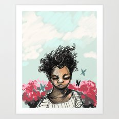The Most Beautiful Flower Art Print
