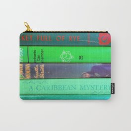 Agatha in Green Carry-All Pouch