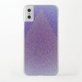 A Blue Point Clear iPhone Case