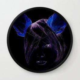 Chihuahua girl Wall Clock