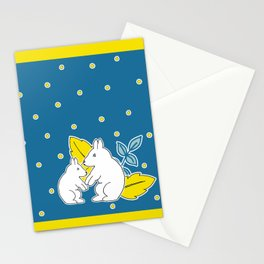 Friends in Paradise Stationery Cards
