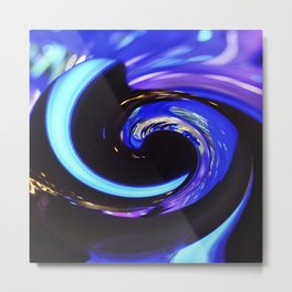 Swirling colors 01 Metal Print