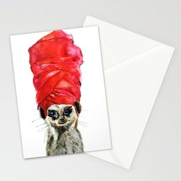 Red Turban Stationery Cards
