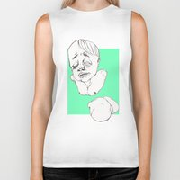 gore Biker Tanks featuring Gore innocence by Coyote inc