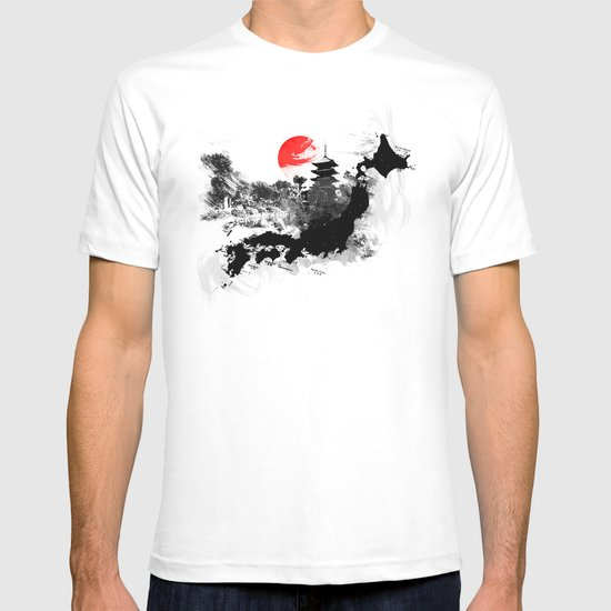 Abstract Kyoto - Japan T-shirt