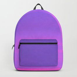 Pink and purple sky a winter morning Backpack