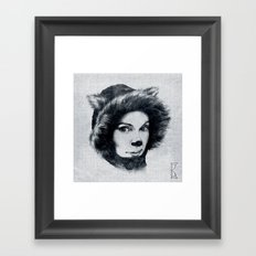 Northern Cat Framed Art Print