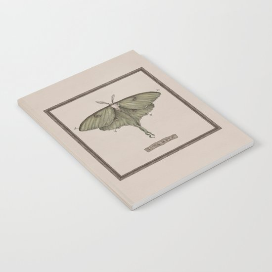Luna Moth Notebook