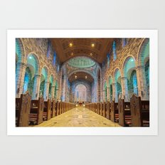 Galway Cathedral Art Print