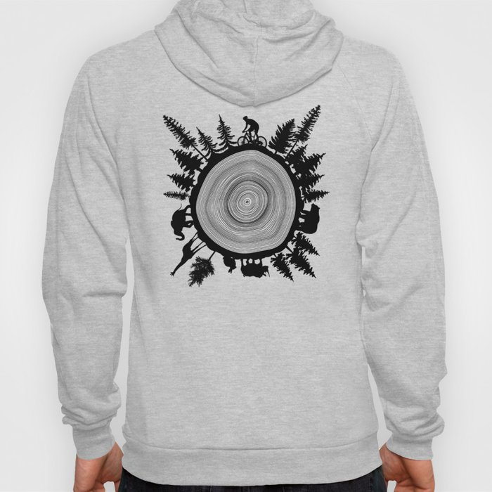 Into The Woods - Tree Ring Hoody