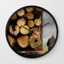 3's A Crowd Wall Clock