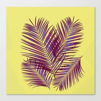 palms Canvas Prints featuring Palms by  Agostino Lo Coco