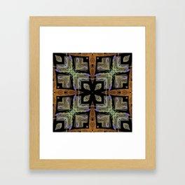 Patterned Lavender - Lavandula Framed Art Print