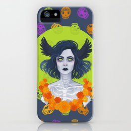 Día de Muertos iPhone Case