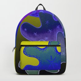Relaxing Ornamental Spirits. Meditative iFi Art. Stress and Pain Free with MYT3H. Neon. Dreamy. Backpack
