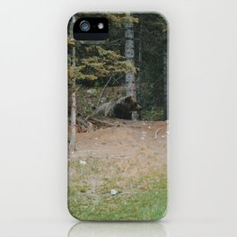 Mother Grizzly Watch iPhone Case