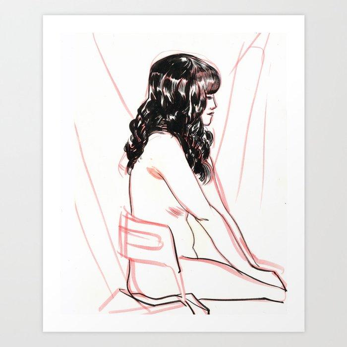 Figure Study Art Print