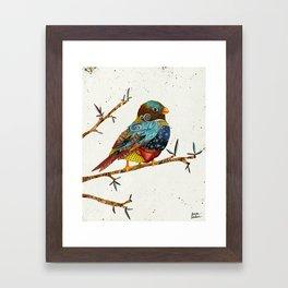 Twilight Bird 2 Framed Art Print