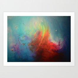 Félina Art Print