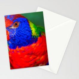 Loris ( Honigpapagei ) Stationery Cards