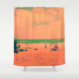 Golden Age Shower Curtain
