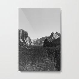 Tunnel View, Yosemite National Park III Metal Print
