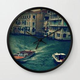 Venice, Grand Canal 3 Wall Clock