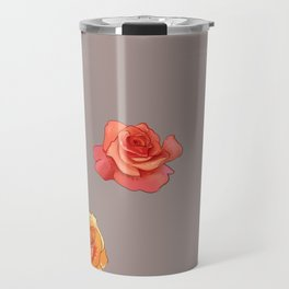 Buried in Petal Travel Mug
