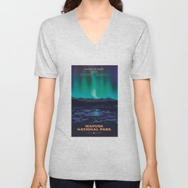 Wapusk National Park Poster Unisex V-Neck