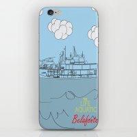 zissou iPhone & iPod Skins featuring Zissou Boat by Jarom Ward