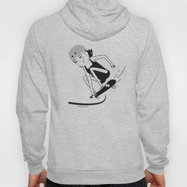 Skater chick_02 Hoody