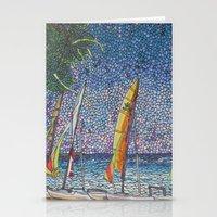 cuba Stationery Cards featuring Cuba by Juliana Kroscen