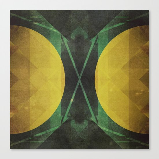 Electro-Magnetic Restraint Canvas Print
