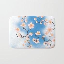 Cherry blossom II Bath Mat