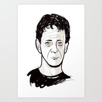 lou reed Art Prints featuring Lou Reed by BTillustration