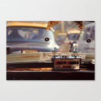 taxi driver Canvas Prints featuring Taxi Driver by MundanalRuido