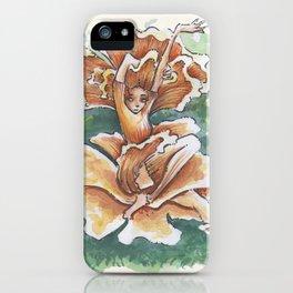 Empire of Mushrooms: Cantharellus cibarius iPhone Case