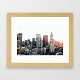 Boston, You're My Home Framed Art Print