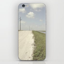 road and canal iPhone Skin