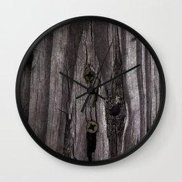 knotty Wall Clock
