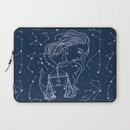 Libra zodiac sign Laptop Sleeve