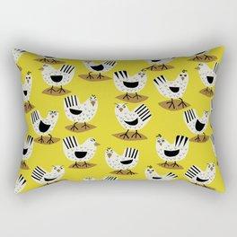 Fowl Mood Rectangular Pillow