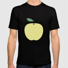 Apple 18 MEDIUM Black Mens Fitted Tee