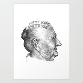 MI VIDA HA SIDO EXTRAORDINARIA SERIES 7# Art Print