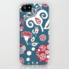 Nature's Glamour Flowers #society6 #decor #wallart iPhone Case