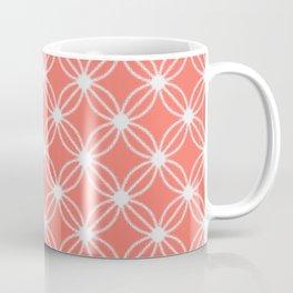 Abstract Circle Dots Peach II Coffee Mug