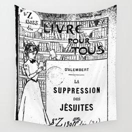 La Suppression des jésuites Wall Tapestry